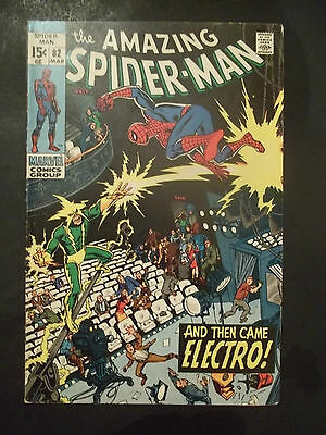 The Amazing Spider-Man   # 82       (1970)   Comics