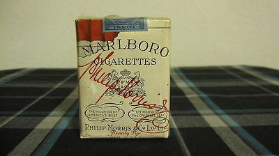 "Vintage ""Marlboro"" Beauty Tip Cigarettes 1952 Extremely Rare!!!"