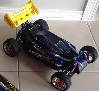Rc Radio Control Car Hsp Xtc 4Wd 1/10 Rc Buggy High Speed Including Spare Parts