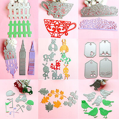 NEW Metal Cutting Dies Stencil Scrapbook Card Album Paper Embossing Craft Decor