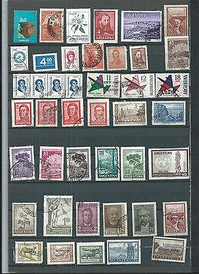 Argentina.  Selection Of 43. Set 2. Various Condition.  As Per Scan