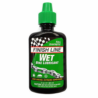 Finish Line WET Bike Lubricant 2oz