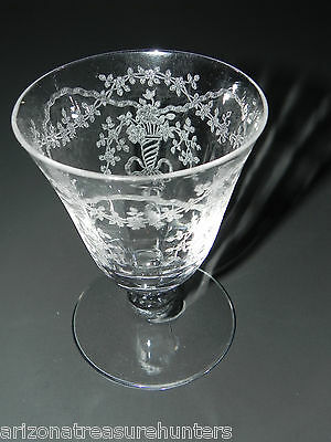 Fostoria Crystal CORSAGE Oyster or Fruit Cocktail