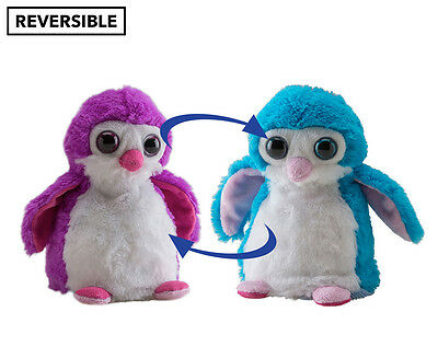Wild Republic Switch A Rooz Chilli & Willie Penguin - Purple/Teal