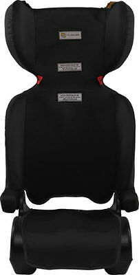INFASECURE Foldaway Child Booster Seat - Ages 4 to 8 - Black - Aust Std Approved