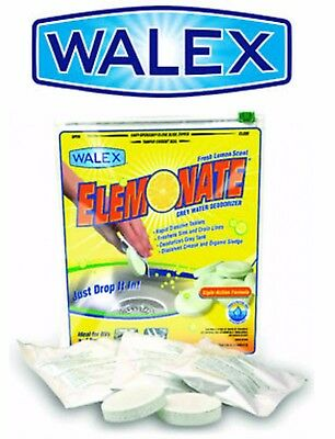Walex Elemonate Grey Water Holding Tank Lemon Deodoriser