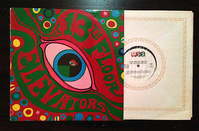 The Psychedelic Sounds of the 13th Floor Elevators LP 1966
