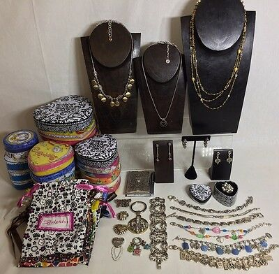 52PC Brighton Jewelry LOT Designer Necklaces Charm Bracelets Earrings Ring