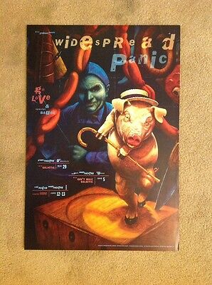 Widespread Panic BGP192 For Greek Theatre, Red Rocks, Eugene 1998 G Love
