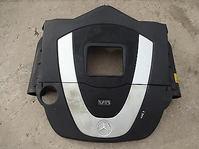 2006 Mercedes C class W203 C280 V6 3.0i engine top cover with air filter boxes