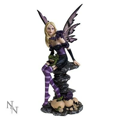Nemesis Now Fairy, Amethyst and Hatchlings, Gothic, Steampunk, Dragon