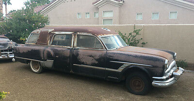 1953 Packard Hearse  1953 Packard Henney Hearse Ambulance. Much more rare then a Cadillac hearse.