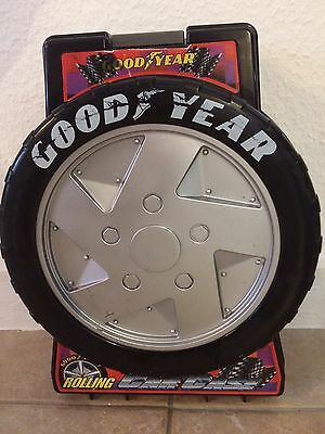 Vintage Hot Wheels Goodyear Rolling Carrying Case for 78 Cars