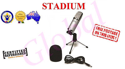 Stadium USBMIC1 USB MIC Studio Microphone Podcast Broadcast Youtube & Skype *RFB