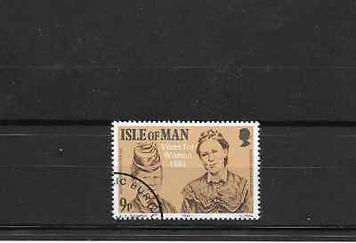ISLE of MAN 1981 Votes for Women stamp used