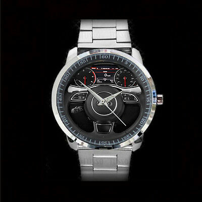 New Audi quattro Q7 A7 steering Band Watch