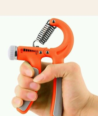 New Orange  Hand Wrist Trainer Grip Forearm Muscle Workout Hands Exercise Home