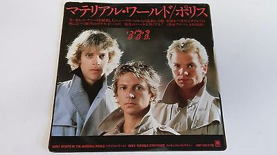 7 Inch Single  The Police Spirits In The Material World   Japan