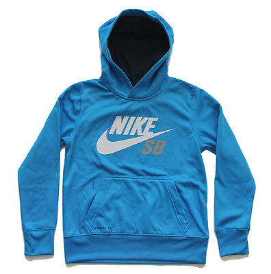 Nike SB Therma-Fit Boy's Pullover Hoodie Jumpers Sz S 8-10 Years $69 - JRD139