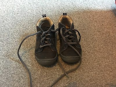 Boys Clarks Shoes Size 5 F