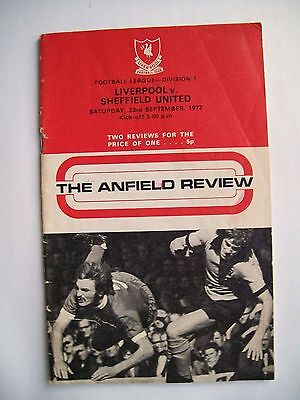 """The Anfield Review"" 1972. Liverpool V Sheffield United"