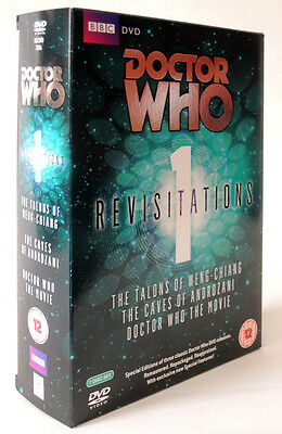 Doctor Who Revisitations 1 Dvd Outer Card Box Only . Baker Davison Mcgann