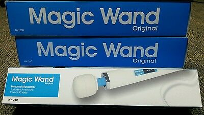 Magic Wand Vibrating Massager with 2 Free attachments