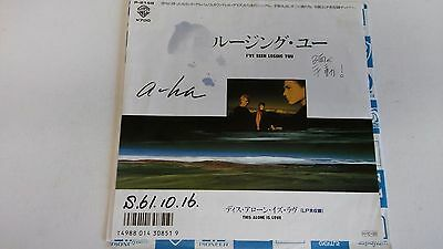 7 Inch Single  A-Ha I've Been Losing You Japan  Promo
