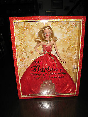 Barbie 2014 Holiday Collector Doll  NIB with free gift wrapping