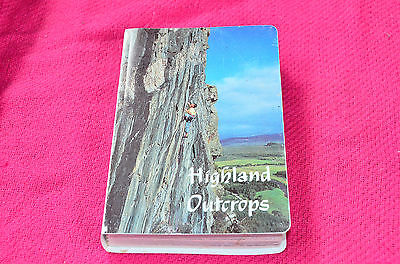 SMC Highland Outcrops Climbers Guidebook Guide