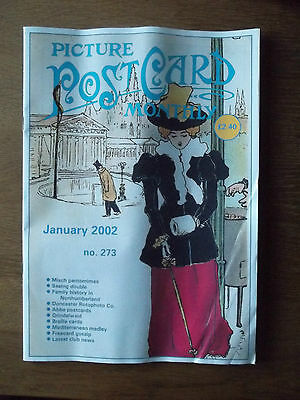 PICTURE POSTCARD MONTHLY no. 273 January 2002