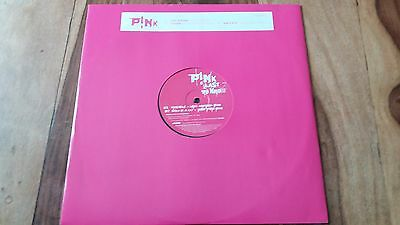 """Pink - Last To Know 12"""" Promo With Dance Remixes Mantronix Robbie Rivera"""