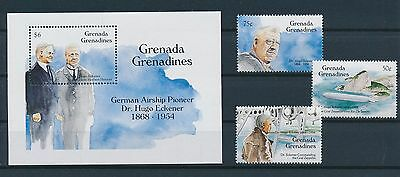 LF62340 Grenada  aviation aircraft airplanes fine lot MNH