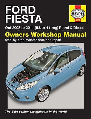 FORD FIESTA  2008 to 2011 Haynes Manual