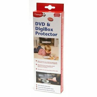 Clippasafe Easy Fit Safety DVD & Digibox Protector, NEW