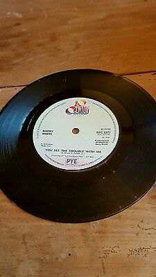 "Barry White You See The Trouble With Me / I'm So Blue And You Are Too 7"" Single"