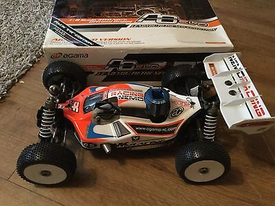 Agama A8 Evo Rc Nitro Buggy Not Losi ,xray,,serpent,kyosho