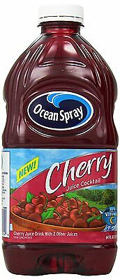 Ocean Spray Cherry Juice Cocktail, 64 Ounce (pack Of 8)