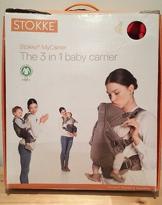 Stokke 3 in 1 baby carrier Red Practically New
