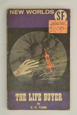 The Life Buyer E. C. Tubb New Worlds April 1965 Vol 48 #149  Sci Fi Book