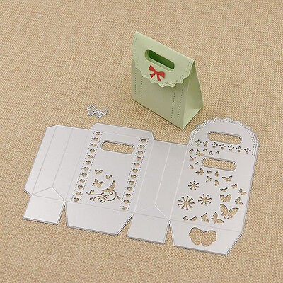 Gift Box Cutting Dies Scrapbooking Album Embossing Paper Card DIY Hot Sell New