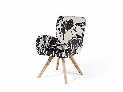 Vintage, Retro chair, club chair, armchair, upholstered chair, black and white