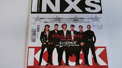 7 Inch Single  Inxs Devil Inside   Japan  Promo