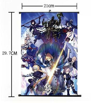 Hot Anime Fate//Grand Order Bradamante Wall Scroll Poster Home Decor Gift 40*55cm