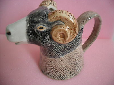 Fabulous  Swaledale Sheep Milk Jug By Quail Pottery  Boxed Ideal Gift