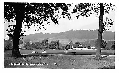 POSTCARD   DERBYSHIRE   BAKEWELL   Recreation  Ground        RP