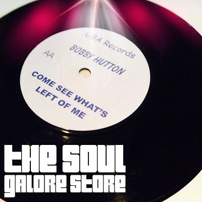Bobby Hutton - Come See What's Left Of Me - Uba - Northern Soul