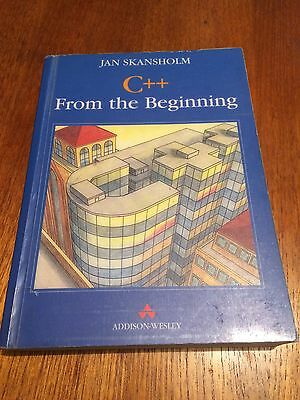 Computer Programming Book, C++ From The Beginning