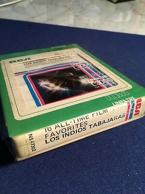 Stereo 8 - 16 All Time Film Favourites. Los Indios Tabajaras. RCA NS 47302