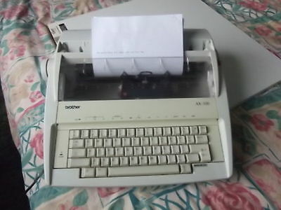 BROTHER AX-100 Electronic Personal Typewriter Word Processor SPARES AND REPAIRS.